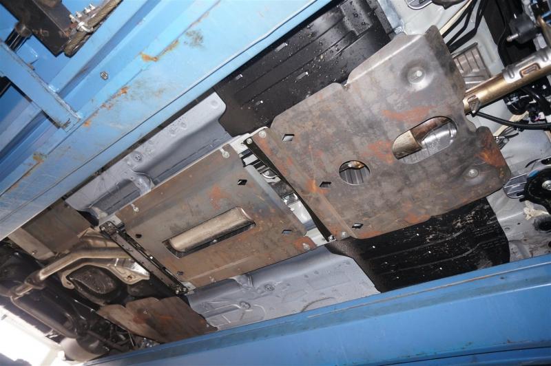 Защита днища Honda Accord V-2,4 ; 3,5 (2013-)из 5 частей (Алюминий 4 мм), 0922ABC