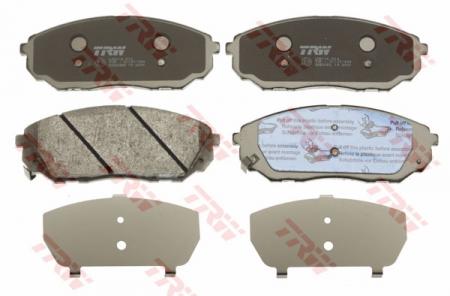 Колодки дисковые Передние, TRW, GDB3452