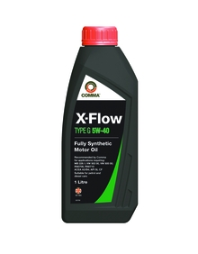 Моторное масло COMMA 5W40 X-FLOW TYPE G, 1л, XFG1L