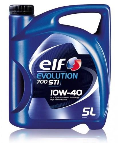 Моторное масло ELF Evolution 700 STI, 10W-40, 5л, RO196141