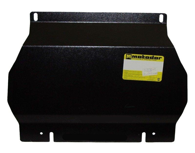Защита картера двигателя, КПП, ПДФ Mitsubishi Pajero Sport II 2008- V=3,0i (сталь 3 мм), MOTODOR1132