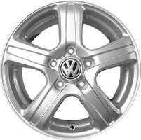 Колесный диск Ls Replica VW53 6x15/5x100 D57.1 ET40 серебристый (S)
