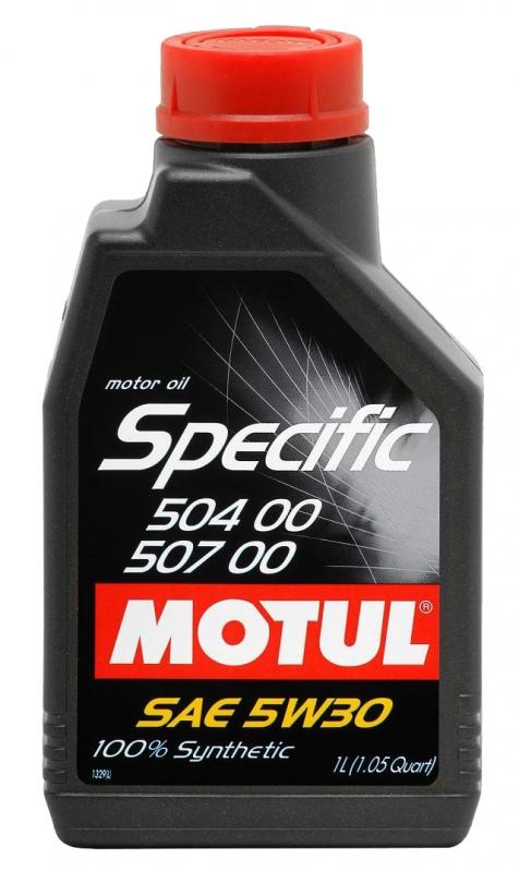 Моторное масло MOTUL Specific 504.00-507.00, 5W-30, 1 л, 106374