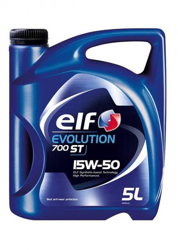 Моторное масло ELF Evolution 700 STI, 15W-50, 5л, 194818