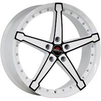 Колесный диск Yokatta MODEL-10 8x18/5x115 D70.1 ET45 белый +черный (W+B)