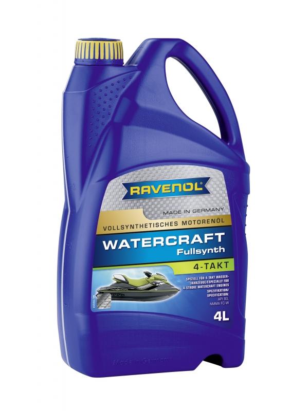 Моторное масло RAVENOL Watercraft 4-Takt, 4 л, 4014835727892