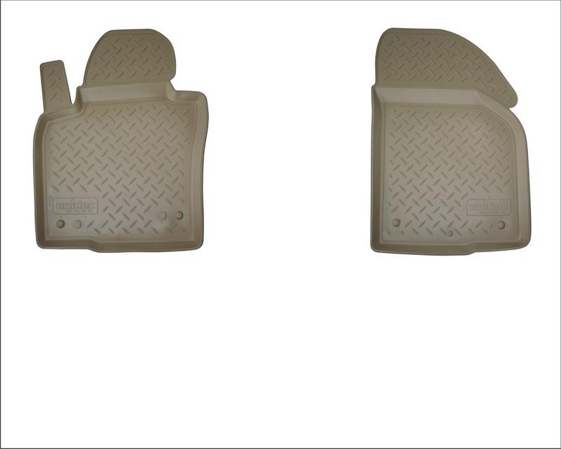 Коврики салона для Mercedes-Benz Sprinter (W901) (2013-) (передние) Бежевый, NPA11C56720BEIGE