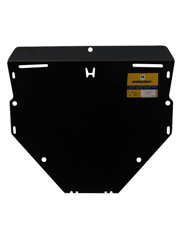 Защита картера двигателя, КПП Honda CR-V III 2007-2012 V= все (сталь 3 мм), MOTODOR10822