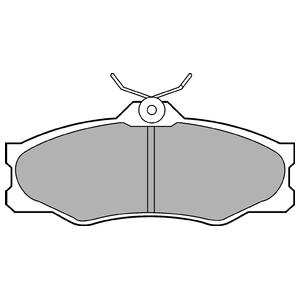 Колодки дисковые, DELPHI, LP548
