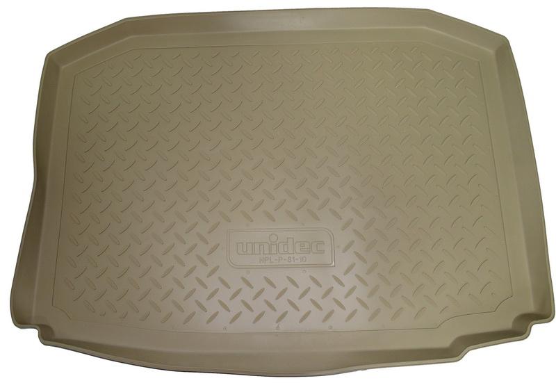 Коврик багажника для Infiniti (Инфинити) FX (S51) (2012)\ QX 70 (2013) Бежевый, NPA00T33530BEIGE
