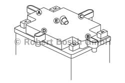 Аккумуляторная батарея Bosch Funstart AGM, 12 В, 3 А/ч, 40 А, 0092M60030