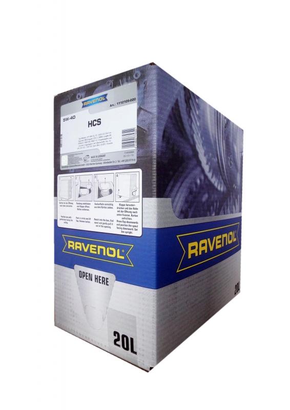 Моторное масло RAVENOL HCS, 5W-40, 20л, 4014835774322
