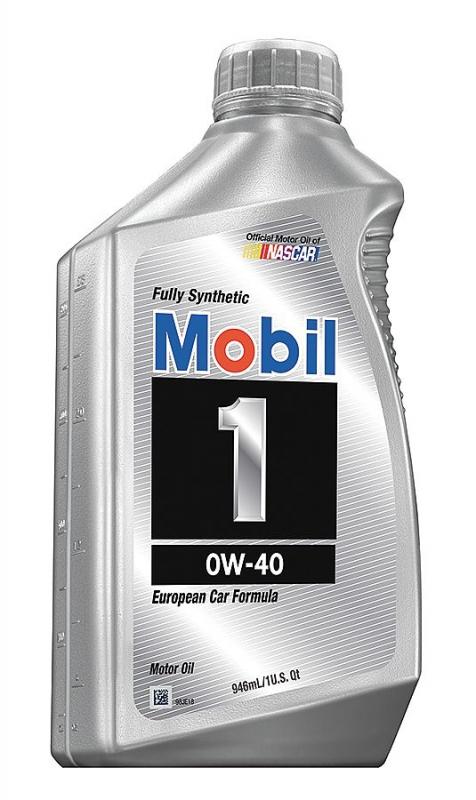 Моторное масло Mobil 1, 0W-40, 0.946л