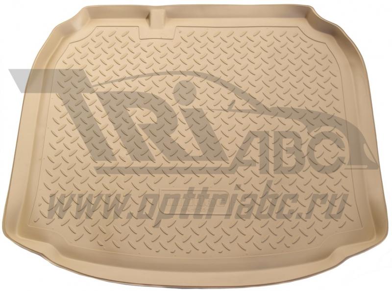 Коврик багажника для Audi (Ауди) A3 Хэтчбек (2008-2012) (беж), NPLP0501BEIGE