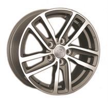 Колесный диск Ls Replica VW161 7x16/5x112 D57.1 ET50 черный матовый, полностью полированный (GMF)