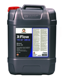 Моторное масло COMMA 15W40 X-FLOW TYPE MF, 20л, XFMF20L