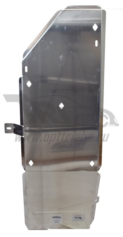 Защита бензобака Infiniti (Инфинити) QX80 (QX56 (2010-)) (Алюминий 4 мм), 1524ABC