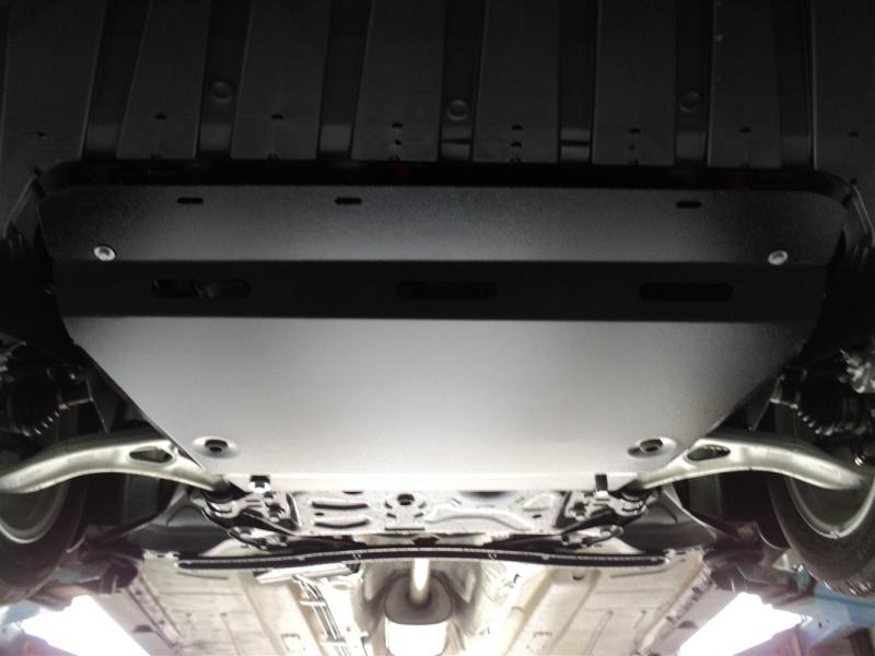 Защита картера двигателя и кпп Ford Focus (V-1.6, 2011-) / Grand C-Max (V-1.6T, 2011-) (Алюминий 4 м
