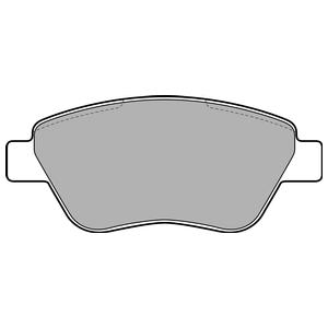 Колодки дисковые, DELPHI, LP1899