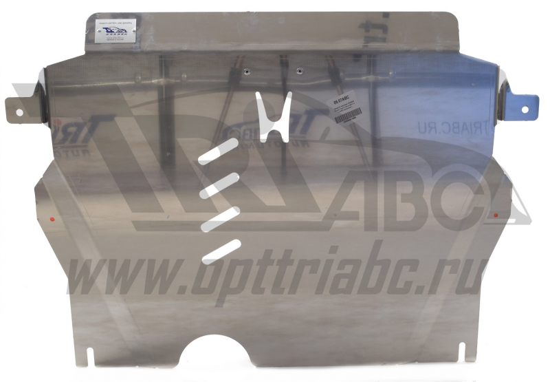 Защита картера двигателя и кпп Honda (Хонда) Cross Tour V-все (2011-) (алюмин.), 0907ABC
