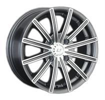 Колесный диск LS Wheels LS 312 7.5x17/5x112 D73.1 ET45 серый матовый полностью полированный (GMF)