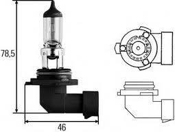 Лампа, 12 В, 51 Вт, HB4, P22d, HELLA, 8GH 005 636-121