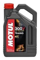 Масло моторное MOTUL 300V 4T Off Road, 15W-60, 4л, 104138