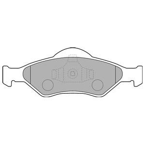Колодки дисковые, DELPHI, LP1470