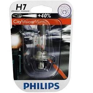 Лампа, 12 В, 55 Вт, H7, PX26d, PHILIPS, 12972CTVBW