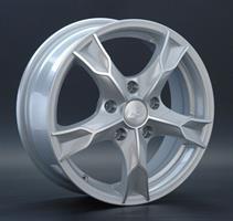 Колесный диск LS Wheels LS 112 6.5x16/5x112 D57.1 ET50 насыщенный темно-серый частично полированный