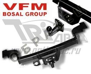 Фаркоп для Ford Fiesta (Форд Фиеста) HB, SD (2015-)(без электрики)., BOSAL, 3986A