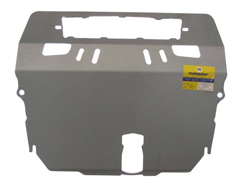 Защита картера двигателя, КПП Mazda CX7 2006- V= все (алюминий 5 мм), MOTODOR31102