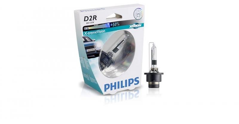 Лампа, 85 В, 35 Вт, D2R, P32d-3, PHILIPS, 85126XVS1