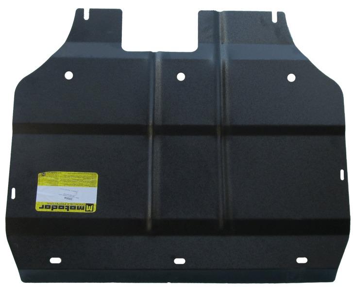 Защита картера двигателя, КПП ALFA ROMEO MITO (955) 2008- V=1,4; 1,4Т (сталь 2 мм), MOTODOR05904