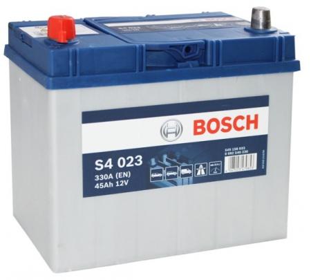 Аккумуляторная батарея Bosch S4 Silver, 12 В, 45 А/ч, 330 А, 0092S40230