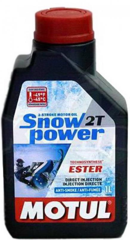 Моторное масло MOTUL Snowpower 2T, 1л, 106599