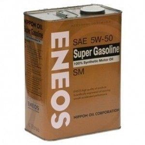 Моторное масло ENEOS Super Gasoline SM, 5W-50, 0.94л, 8801252021230