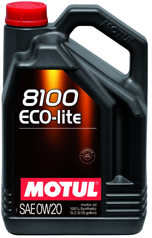 Моторное масло MOTUL 8100 Eco-lite, 0W-20, 5л, 101526