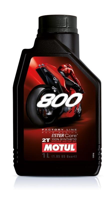 Моторное масло MOTUL 800 2T FACTORY LINE ROAD RACING, 1л, 104041