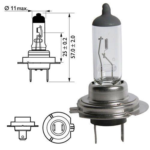 Лампа Plus 50/60 Plus Life, 12 В, 55 Вт, H7, PX26d, BOSCH, 1 987 301 066
