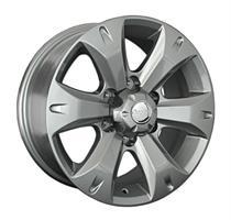 Колесный диск Ls Replica TY190 7.5x17/6x139,7 D60.1 ET25 серый глянец (GM)