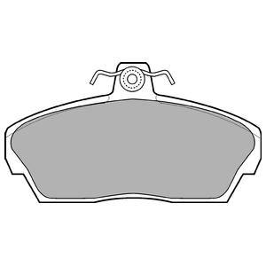 Колодки дисковые, DELPHI, LP911
