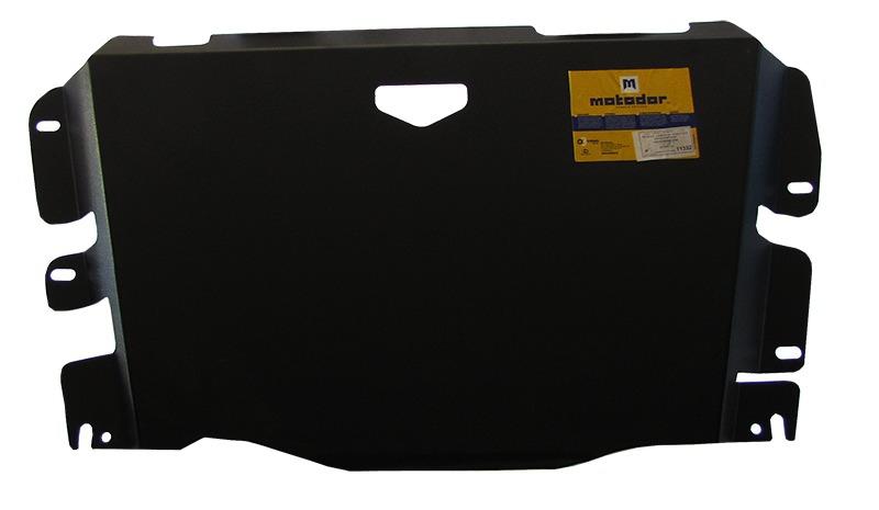 Защита картера РК Mitsubishi L200 (K6_T) 1996-2006 V= все (сталь 3 мм), MOTODOR11332