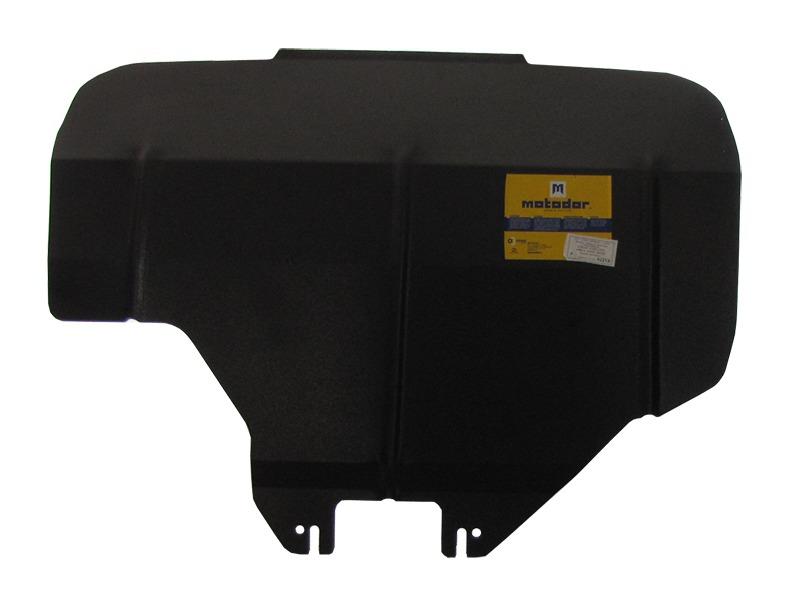 Защита картера двигателя Subaru Forester III 2008-2012 V=2,0, 2,5 МКПП, АКПП (сталь 2 мм), MOTODOR02