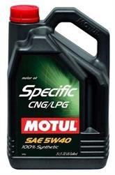 Моторное масло MOTUL Specific CNG/LPG, 5W-40, 5л, 101719
