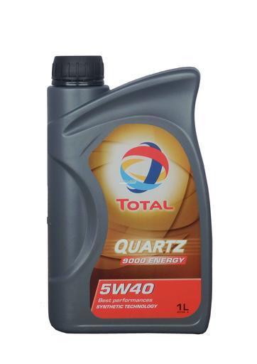 Моторное масло TOTAL QUARTZ 9000 ENERGY, 5W-40, 1л, 166245
