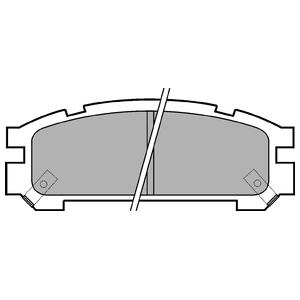 Колодки дисковые, DELPHI, LP814