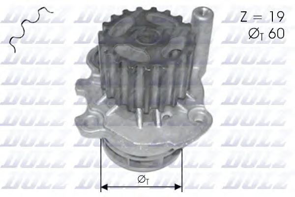 Водяной насос, DOLZ, A196