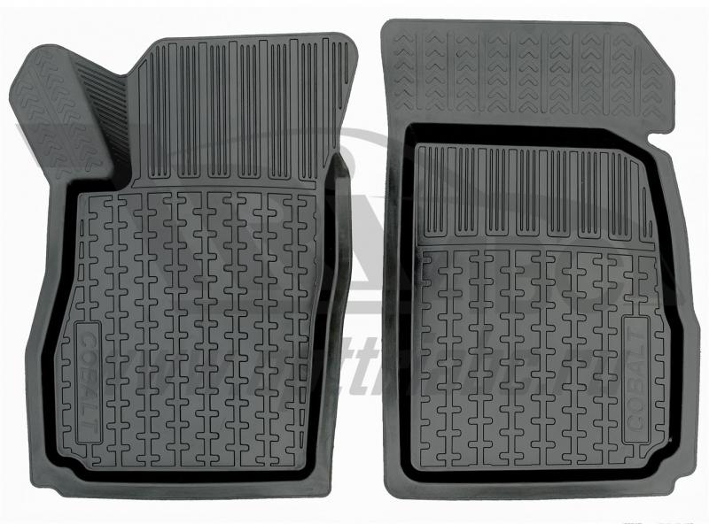 Коврики салона резиновые с бортиком для Chevrolet Cobalt (2012-) (2 передних), ADRPRO0082