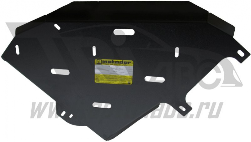 Защита картера РК Chevrolet TrailBlazer 2013- V=2.8 TD (сталь 3 мм), MOTODOR13011